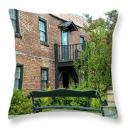 Boone Hall Cotton Gin Throw Pillow