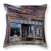 Boone Store And Warehouse Throw Pillow