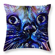 Boo's Midnight Dream Throw Pillow