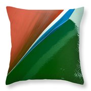Boot Stripe Throw Pillow