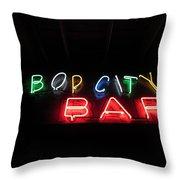 Bop City Throw Pillow