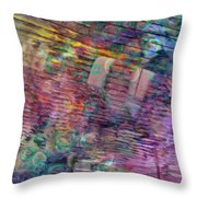 Border Crossing Throw Pillow