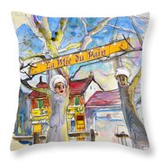 Borderes Sur Echez 01 Throw Pillow