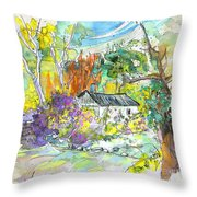 Borderes Sur Echez 02 Throw Pillow