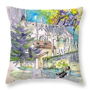 Borderes Sur Echez 03 Throw Pillow