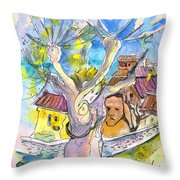Borderes Sur Echez 04 Throw Pillow
