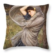 Boreas Throw Pillow