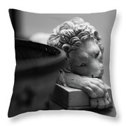 Bored Throw Pillow by Break The Silhouette