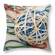 Bored Sensless Throw Pillow