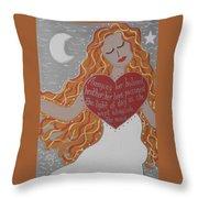 Borghild Throw Pillow