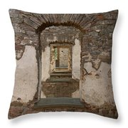 Borgholm Castle Throw Pillow