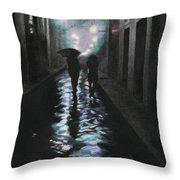 Borgo Degli Albizi Florence Italy Throw Pillow