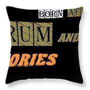 Born After Throw Pillow