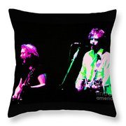 Grateful Dead - Born Cross Eyed Throw Pillow