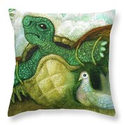 Born For Crawling Will Not Fly Throw Pillow