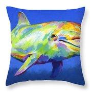 Born To Live Wild Throw Pillow