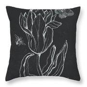 Botanique 4 Throw Pillow
