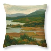 Boscobel Fall Colors Throw Pillow