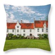 Bosjokloster Monastery Castle Facade Throw Pillow
