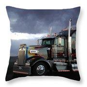 Boss Hogg - Kenworth W900 Throw Pillow