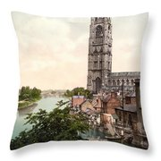 Boston - England Throw Pillow by International  Images