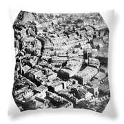 Boston 1860 Throw Pillow