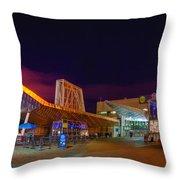 Boston Aquarium 923 Throw Pillow