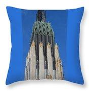 Boston Avenue Church 9 Throw Pillow