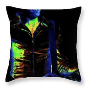 Boston Blues In Spokane 2 Throw Pillow