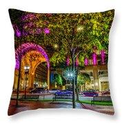 Boston Harbor Hotel 2363 Throw Pillow