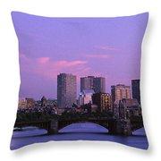 Boston Ma Throw Pillow