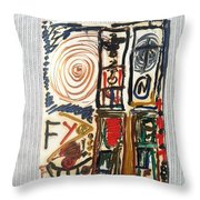Boston Marathon Memorial Throw Pillow