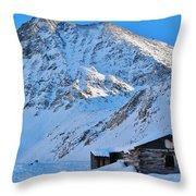 Boston Mine Winter 3 Throw Pillow