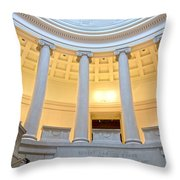 Boston Museum Of Fine Arts Y1 Throw Pillow
