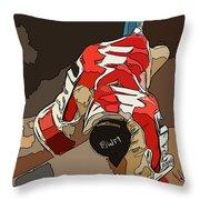 Boston Red Sox Original Typography Baseball Team  Throw Pillow
