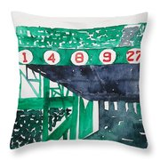 Boston Retired Numbers Throw Pillow