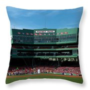 Boston's Gem Throw Pillow by Paul Mangold