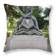 Bostons Industry Throw Pillow