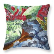 Botanic Garden Merano 2 Throw Pillow
