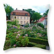Botanical Gardens - Stockholm Sweden Throw Pillow