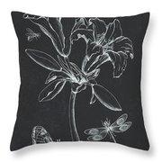 Botanique 3 Throw Pillow
