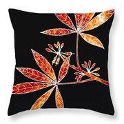 Botany 1 Throw Pillow