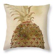 Botany: Pineapple, 1585 Throw Pillow