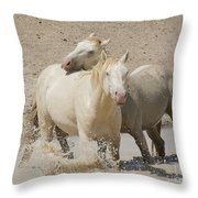 Bother's Love  Throw Pillow by Nicole Markmann Nelson