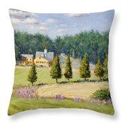 Bothways Farm Throw Pillow
