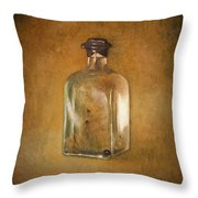 Bottle Of Light Throw Pillow