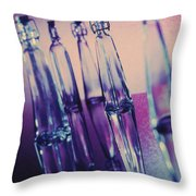 Bottle Shapes Throw Pillow