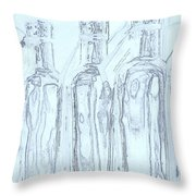 Bottles 2 Throw Pillow