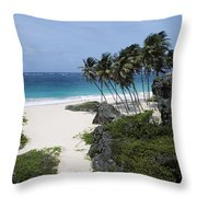 Bottom Bay Throw Pillow