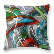 Bottoms Up 5 Throw Pillow